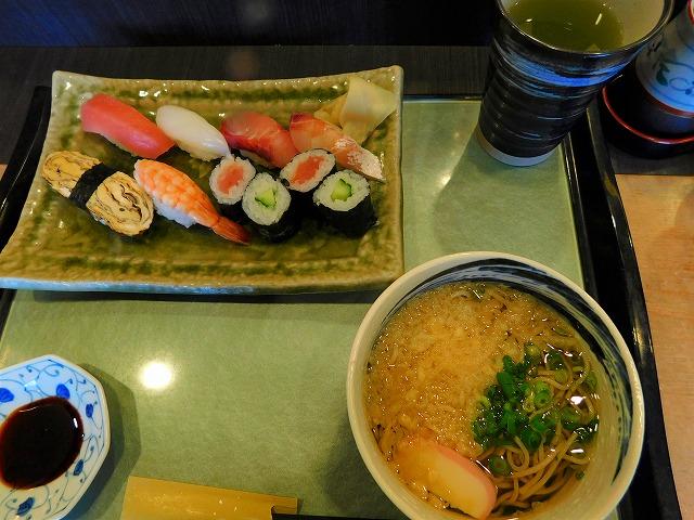 寿司とお蕎麦