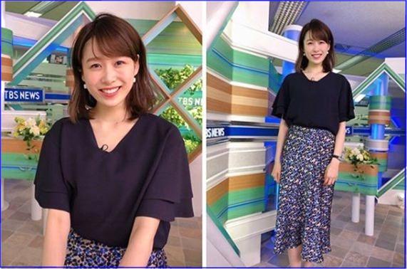良原安美 TBS 女子アナ