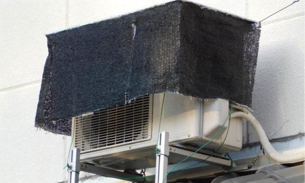エアコンの電気代を節約する究極の室外機の遮光&遮熱ケース2